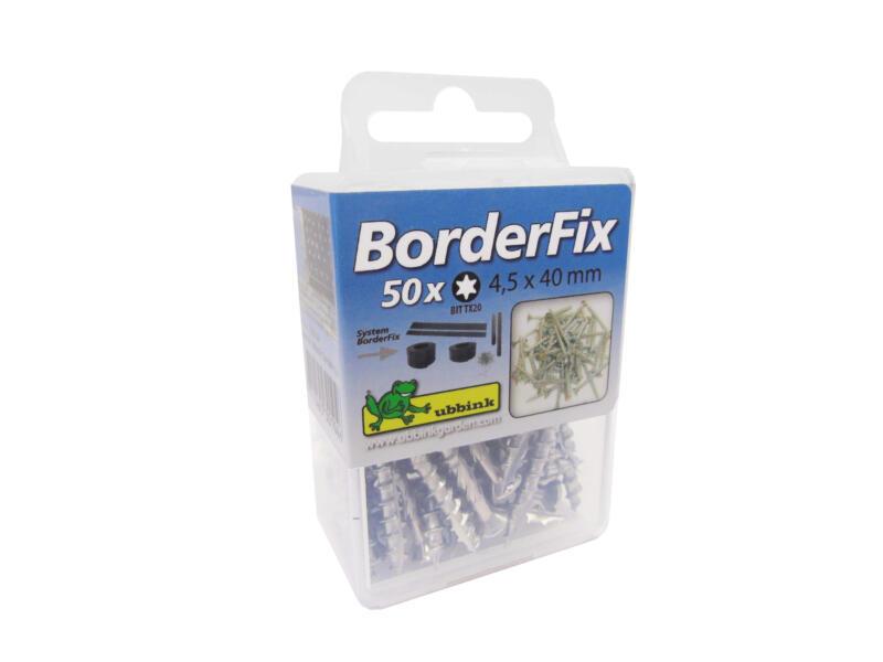 Nature Schroeven inox 4,5x40 mm 50 stuks