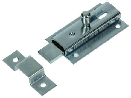 Schuif plat verzinkt 60mm