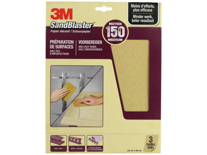 3M Schuurpapier K150 280x230 mm