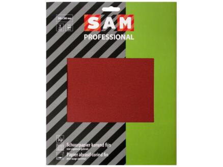 Sam Schuurpapier K180 droog fijn (3 stuks)