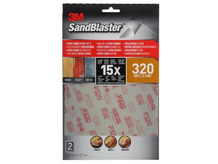3M Schuurpapier K320 303x231 mm