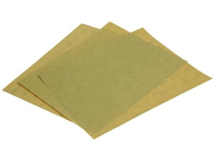 3M Schuurpapier assortiment fijn goud (3 stuks)