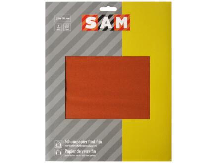 Sam Schuurpapier flint K150 fijn (5 stuks)