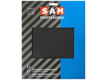 Sam Schuurpapier waterproof K280 medium (5 stuks)