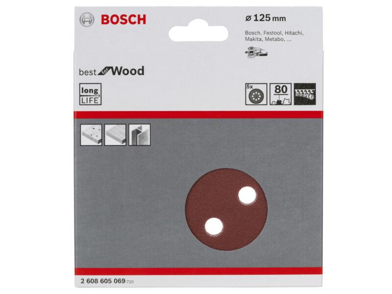 Bosch Professional Schuurschijf K80 125mm