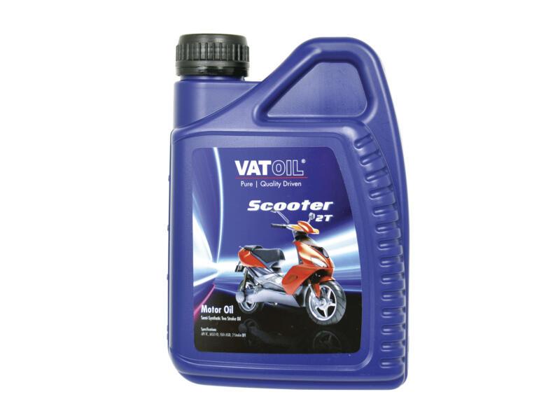 Scooter huile moteur semi-synthétique 2 temps 1l