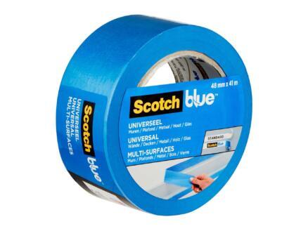 3M ScotchBlue 2090-24N ruban de masquage 41m x 48mm multisurfaces bleu