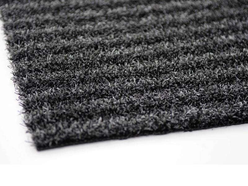 Scraper voetmat 40x60 cm style antraciet