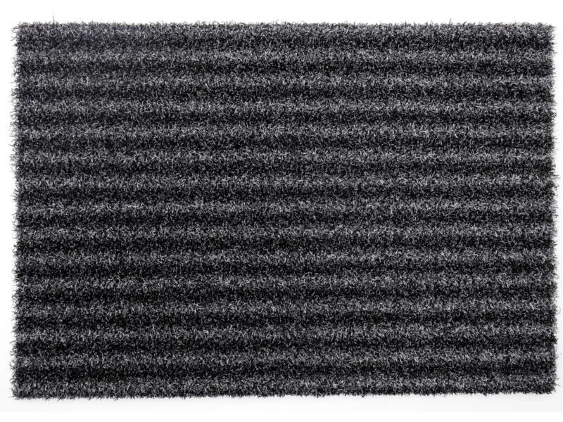 Scraper voetmat 50x80 cm style antraciet