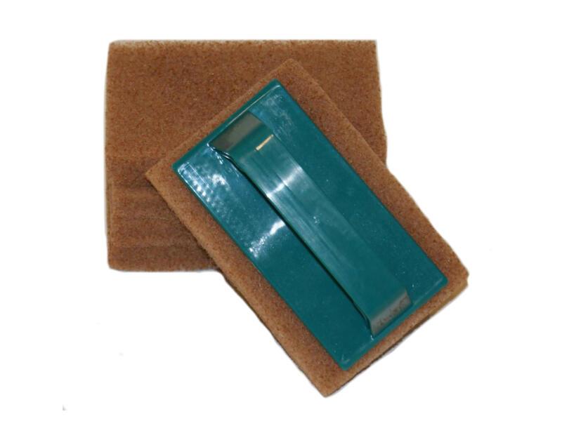 Woca Scrubbie-set handhouder + 5 pads voor olie