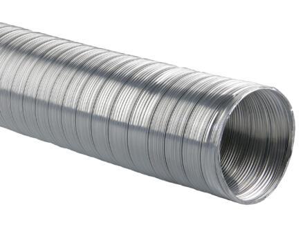 Renson Semidec flexibel 110mm 1,5m aluminium