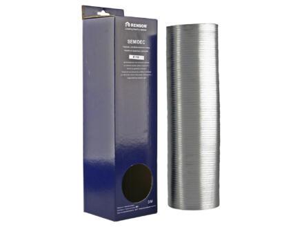 Renson Semidec flexibel 110mm 3m aluminium