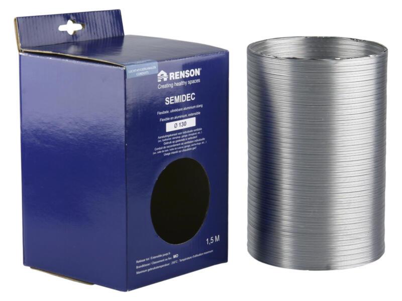 Renson Semidec flexibel 130mm 1,5m aluminium