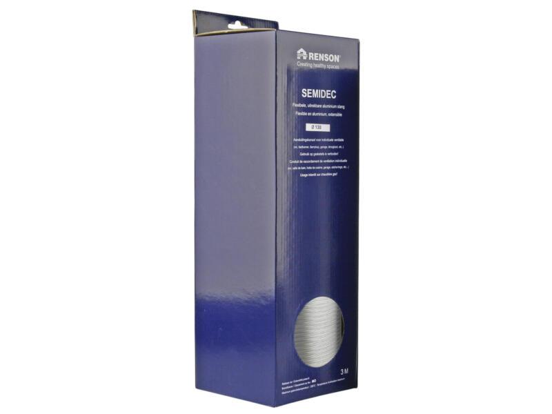 Renson Semidec flexibel 130mm 3m aluminium