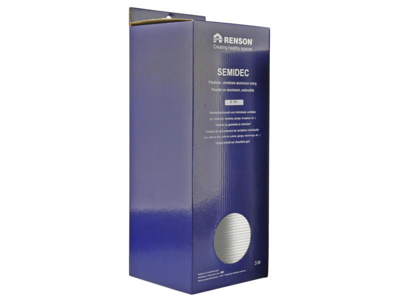 Renson Semidec flexibel 150mm 3m aluminium