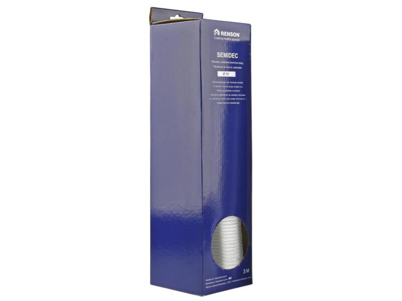 Renson Semidec gaine flexible 90mm 3m aluminium