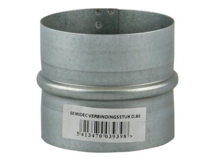 Renson Semidec manchon 80mm galvanisé