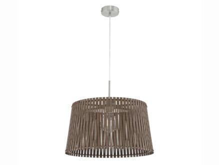 Eglo Sendero hanglamp E27 max. 60W 45cm donkerbruin