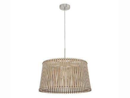 Eglo Sendero hanglamp E27 max. 60W 45cm lichtbruin