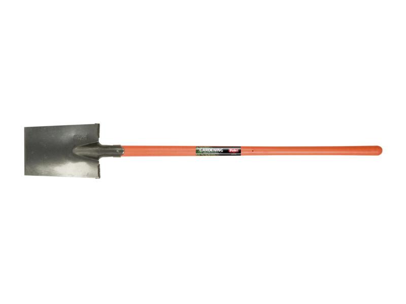 Polet Senlis bêche de jardin 28x18 cm avec repose-pieds + manche pomme en fibre de verre 105cm