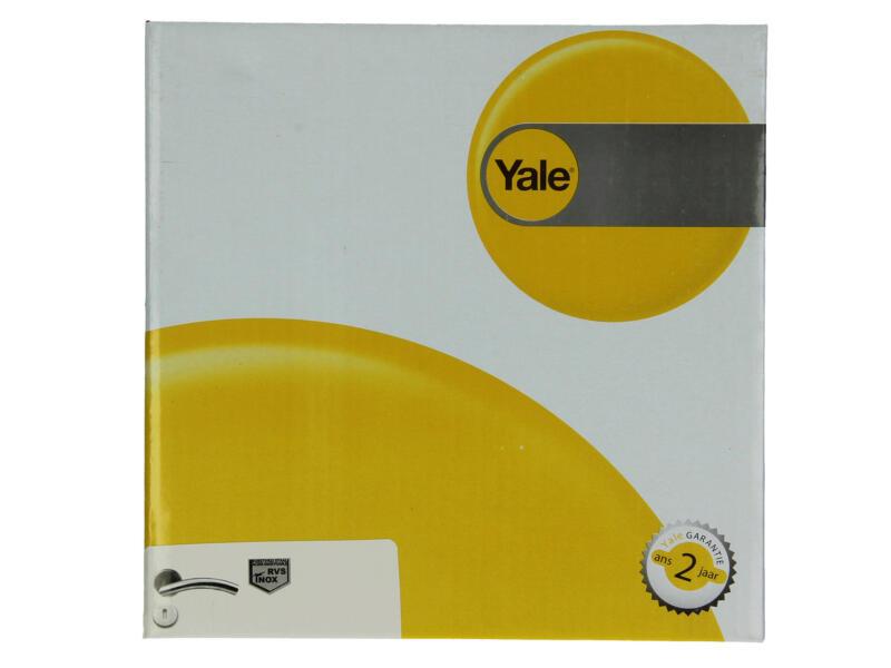 Yale Senna BB poignée de porte avec rosaces 53mm set complet inox