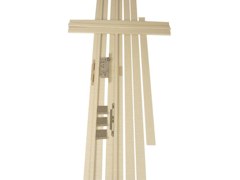 Solid Senza Classico deurkast 202,2x12,5 cm witte eik