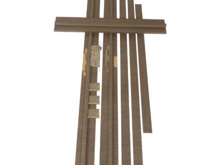 Solid Senza Classico deurkast 202,2x16,5 cm eik antraciet