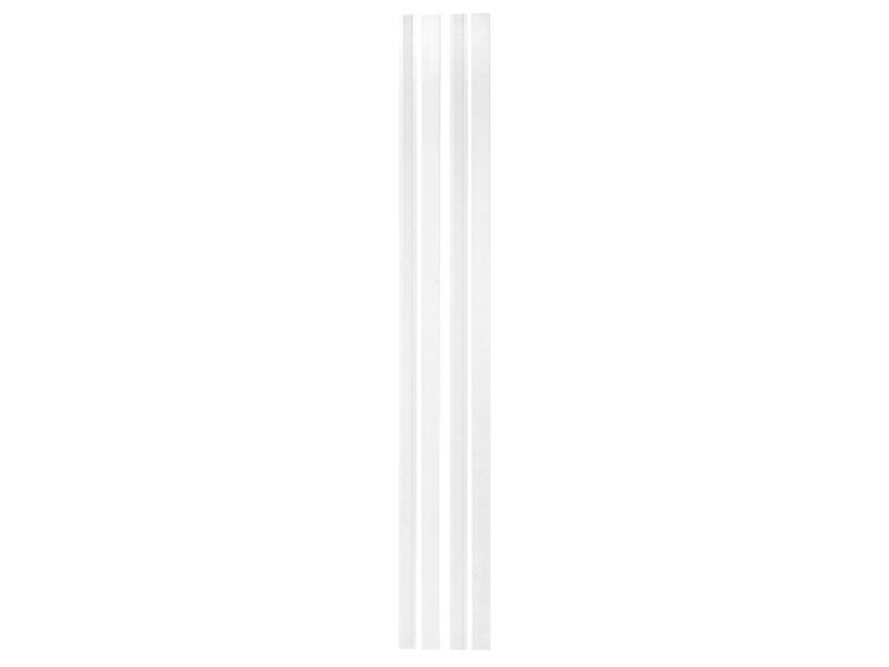 Solid Senza Classico deurkast horizontaal MDF 202x12,5cm eik wit