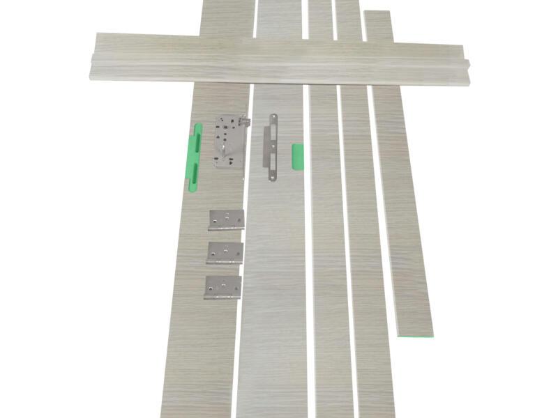 Solid Senza Classico kit d'ébrasement hydrofuge 202x20 cm chêne blanc