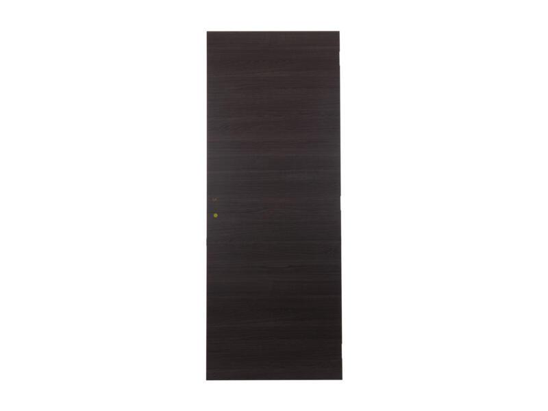 Solid Senza Classico porte intérieure 201,5x68 cm chêne anthracite