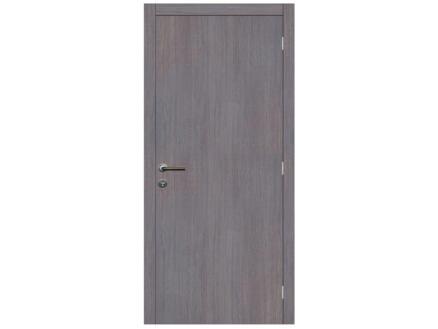 Solid Senza Classico porte intérieure 201x63 cm chêne gris