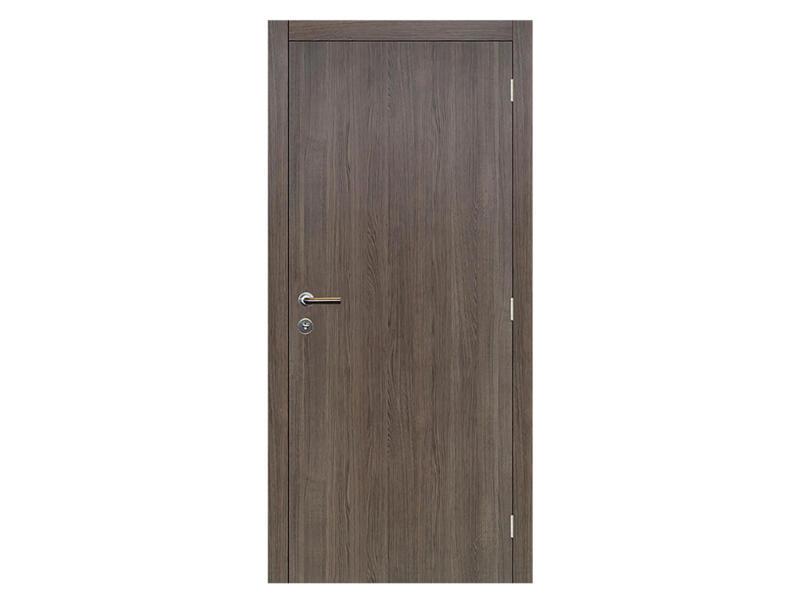 Solid Senza Classico porte intérieure 201x68 cm chêne anthracite