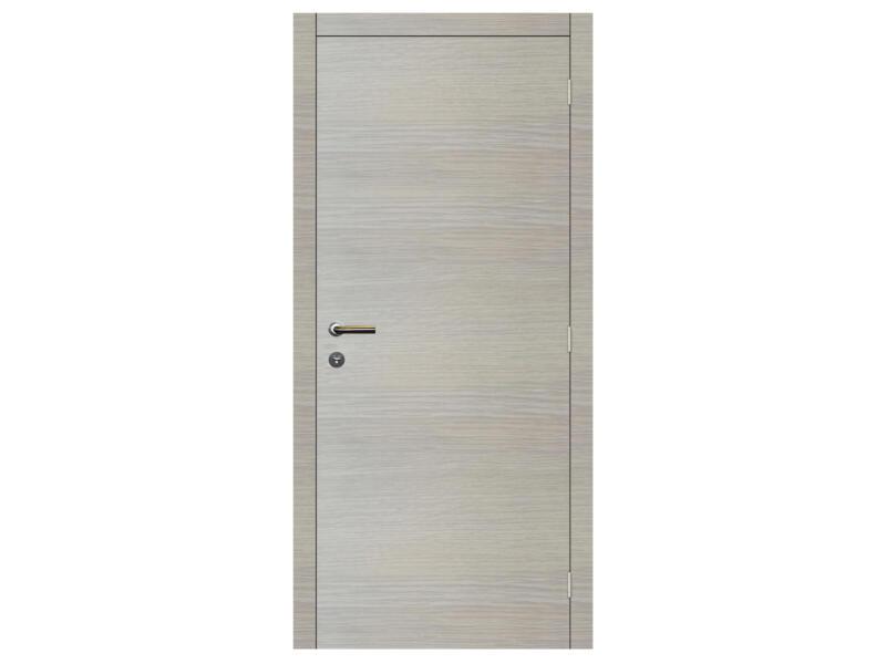 Solid Senza Classico porte intérieure 201x68 cm chêne blanc