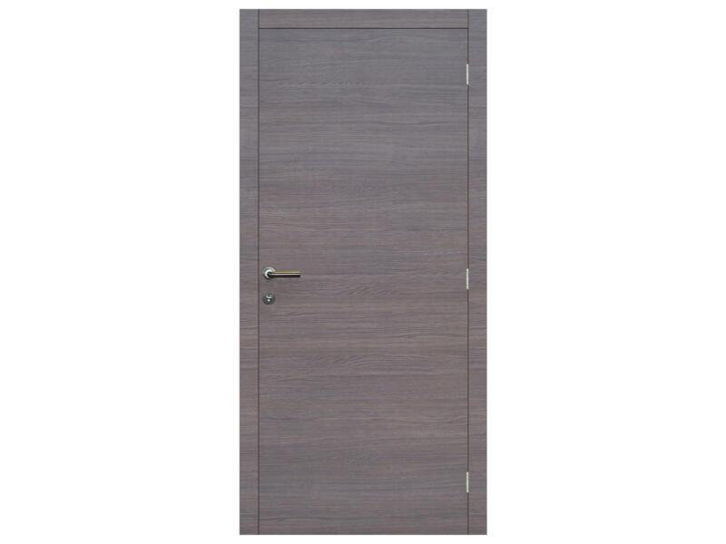 Solid Senza Classico porte intérieure 201x73 cm chêne gris