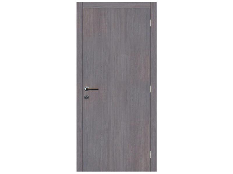 Solid Senza Classico porte intérieure 201x78 cm chêne gris