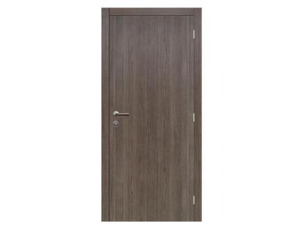 Solid Senza Classico porte intérieure 201x83 cm chêne anthracite
