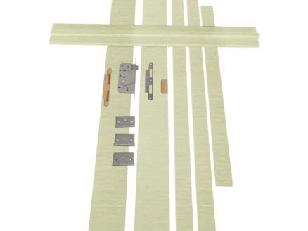 Solid Senza Luce Ceruse kit d'ébrasement MDF 202x12,5 cm