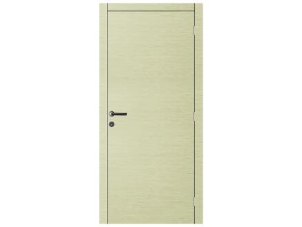 Solid Senza Luce Ceruse porte intérieure 201x73 cm chêne gris