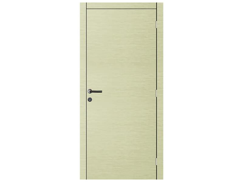 Solid Senza Luce Ceruse porte intérieure 201x83 cm chêne gris