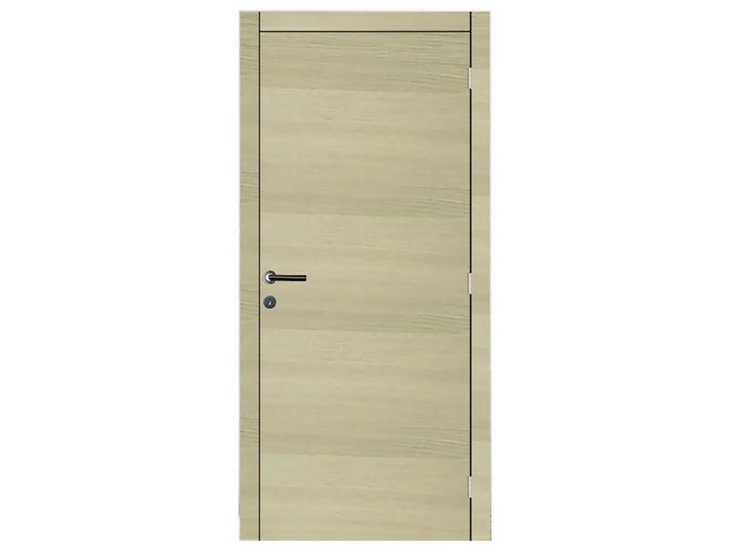 Solid Senza Oak Amato porte intérieure 201x68 cm chêne brun