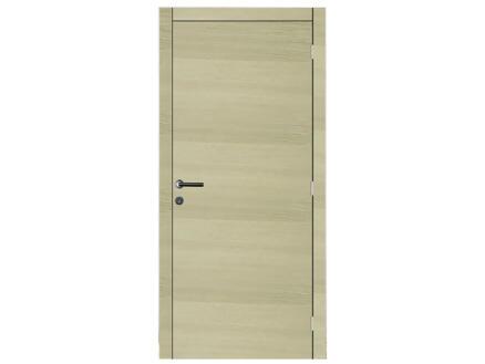 Solid Senza Oak Amato porte intérieure 201x83 cm chêne brun
