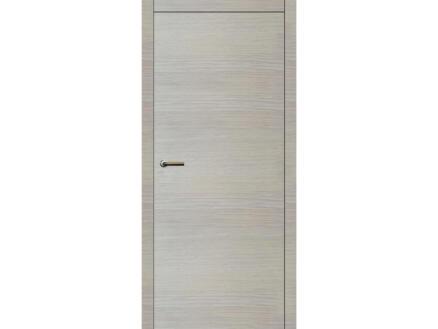 Solid Senza Oak Eclips porte intérieure 201x63 cm chêne blanc