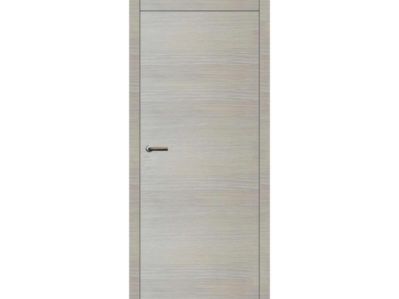 Solid Senza Oak Eclips porte intérieure 201x83 cm chêne blanc