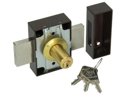 Yale Serrure de sécurité en applique 30-45 mm avec accessoires de fixation