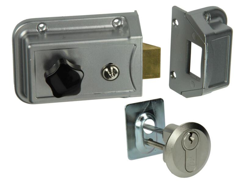 Yale Serrure de sécurité en applique G/D 60mm avec accessoires de fixation