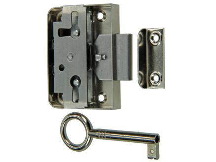 Serrure meuble 25mm avec accessoires de fixation