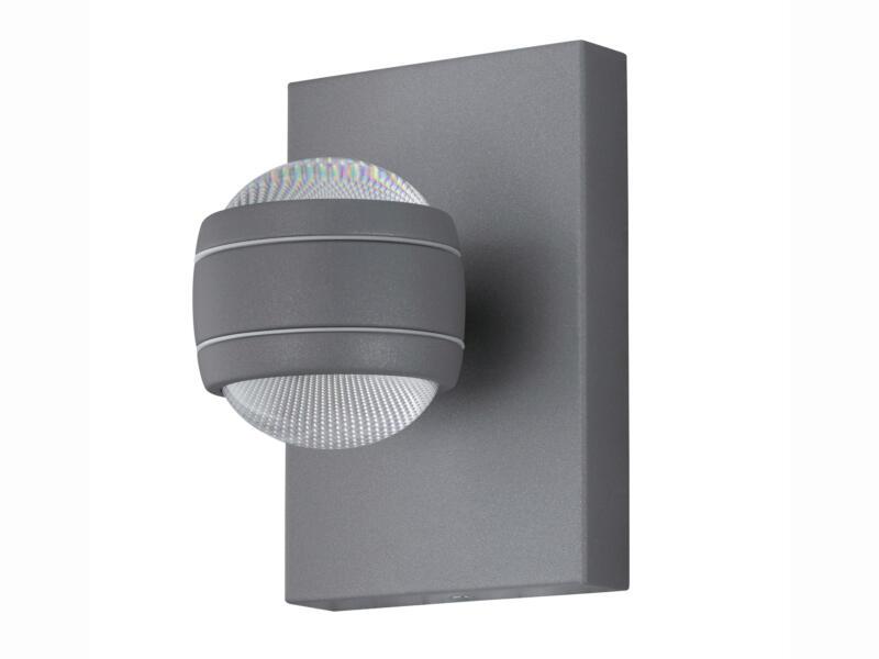 Eglo Sesimba LED wandlamp 2x3,7 W zilver