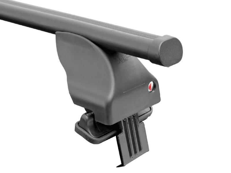 Set barres de toit Twinny Load Acier S99 pour modèles divers avec portefaix fermé d'origine