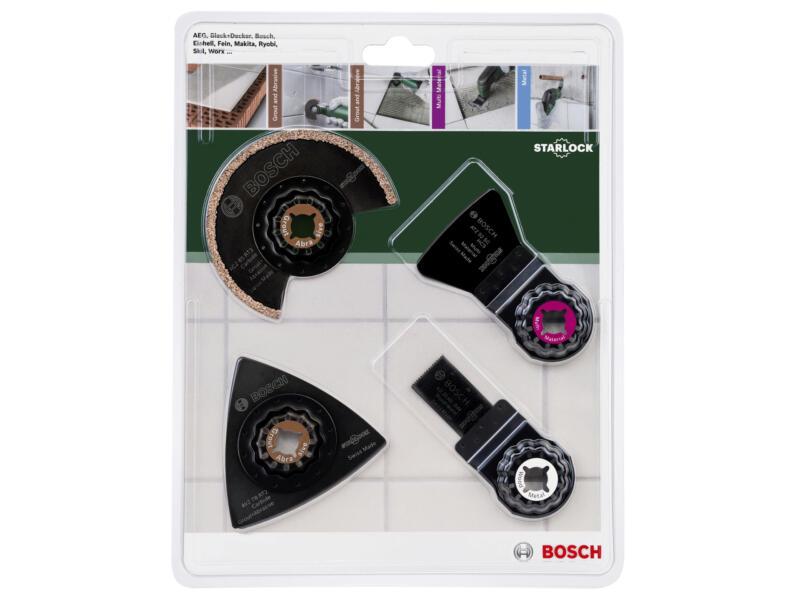 Bosch Set de carreaux 4 pièces
