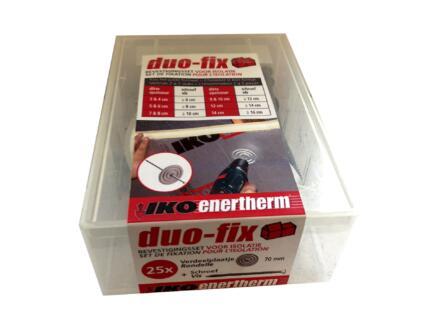 Enertherm Set de fixation Duo-fix 120mm 25 pièces